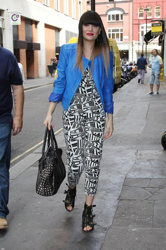 At The Studios Of BBC Radio 1 And Kiss FM [31 May 2012] - jessie-j Photo