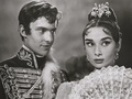 Audrey Hepburn and Jeremy Brett in War and Peace