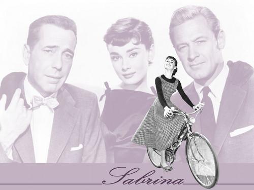 Audrey as Sabrina