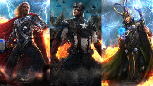 The Avengers wallpaper containing a fire and a fire entitled Avengers Wallpaper