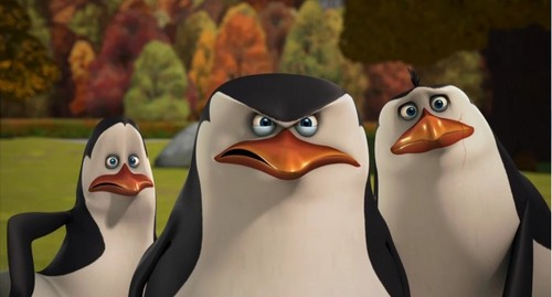 Skipper,Kowalski and Rico.