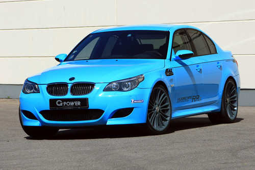 bmw M5 HURRICANE RRS por G-POWER