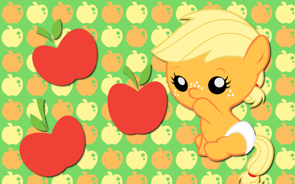 My little pony baby applejack - photo#5