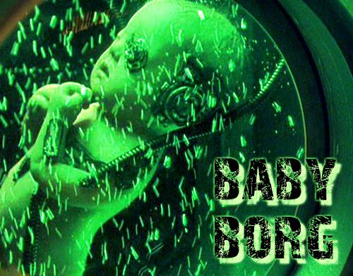 Baby Borg - Star Trek Borg Fan Art (30946904) - Fanpop  |Borg Baby