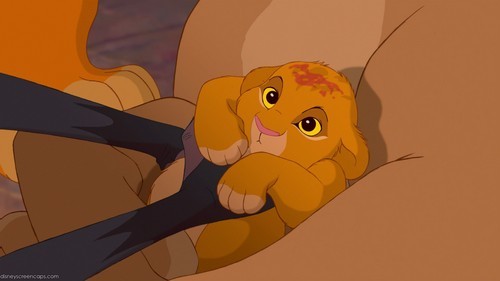 The Lion King wallpaper with anime titled Baby Simba