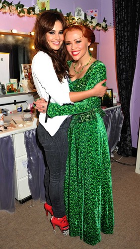 Backstage At The Theatre Royal In Londres [21 May 2012]