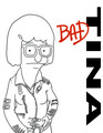 Bad Tina Script Cover