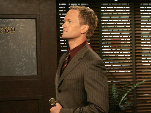 How I Met Your Mother wallpaper containing a business suit entitled Barney
