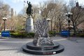 Behold the Iron Throne in NYC in Union Square - game-of-thrones photo