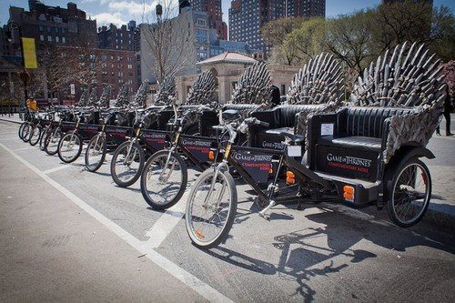 Behold the chariot of usurpers. If you're in Midtown NYC
