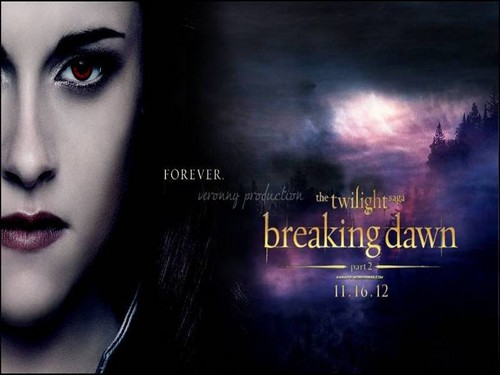 Twilight Series wallpaper possibly containing anime entitled Bella Cullen - Breaking Dawn Part 2 [wallpaper fanmade by me]