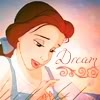 Belle - daydreaming Icon