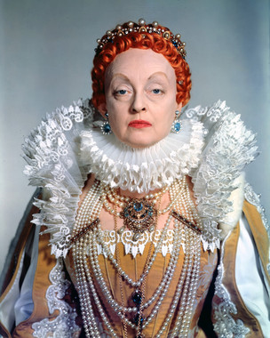 Bette Davis as queen elizabeth