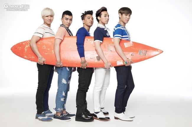 Big Bang for Gmarket Summer 2012 - Big Bang Photo