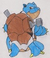 Blastoise - wantadog fan art