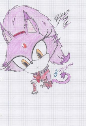 Blaze the Cat ^^