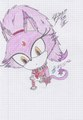 Blaze the Cat ^^ - blaze-the-cat fan art