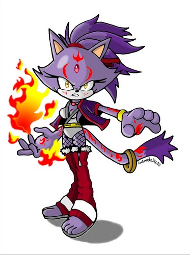 Blaze the Cat - sonic-the-hedgehog Fan Art