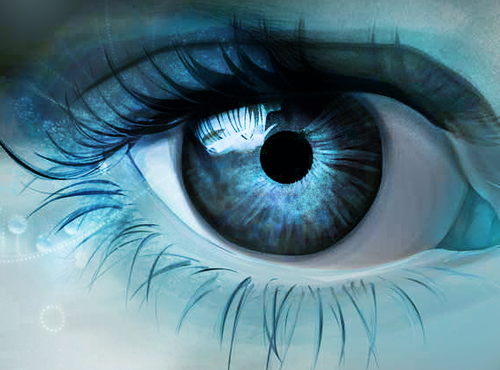 Blue Eye - colors Photo