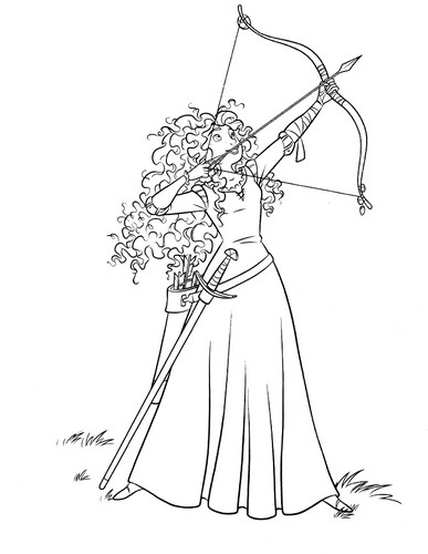 Merida - Legende der Highlands Hintergrund possibly with a japanese apricot, a japanese plum, and a bouquet entitled Merida - Legende der Highlands coloring pages