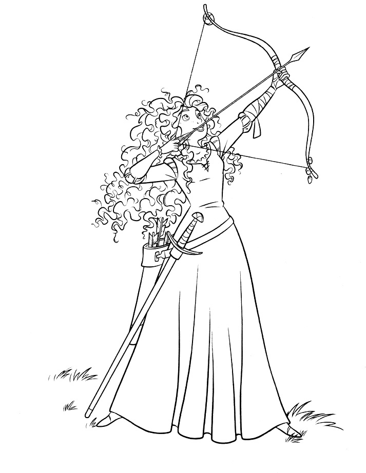 Rebelle coloring pages
