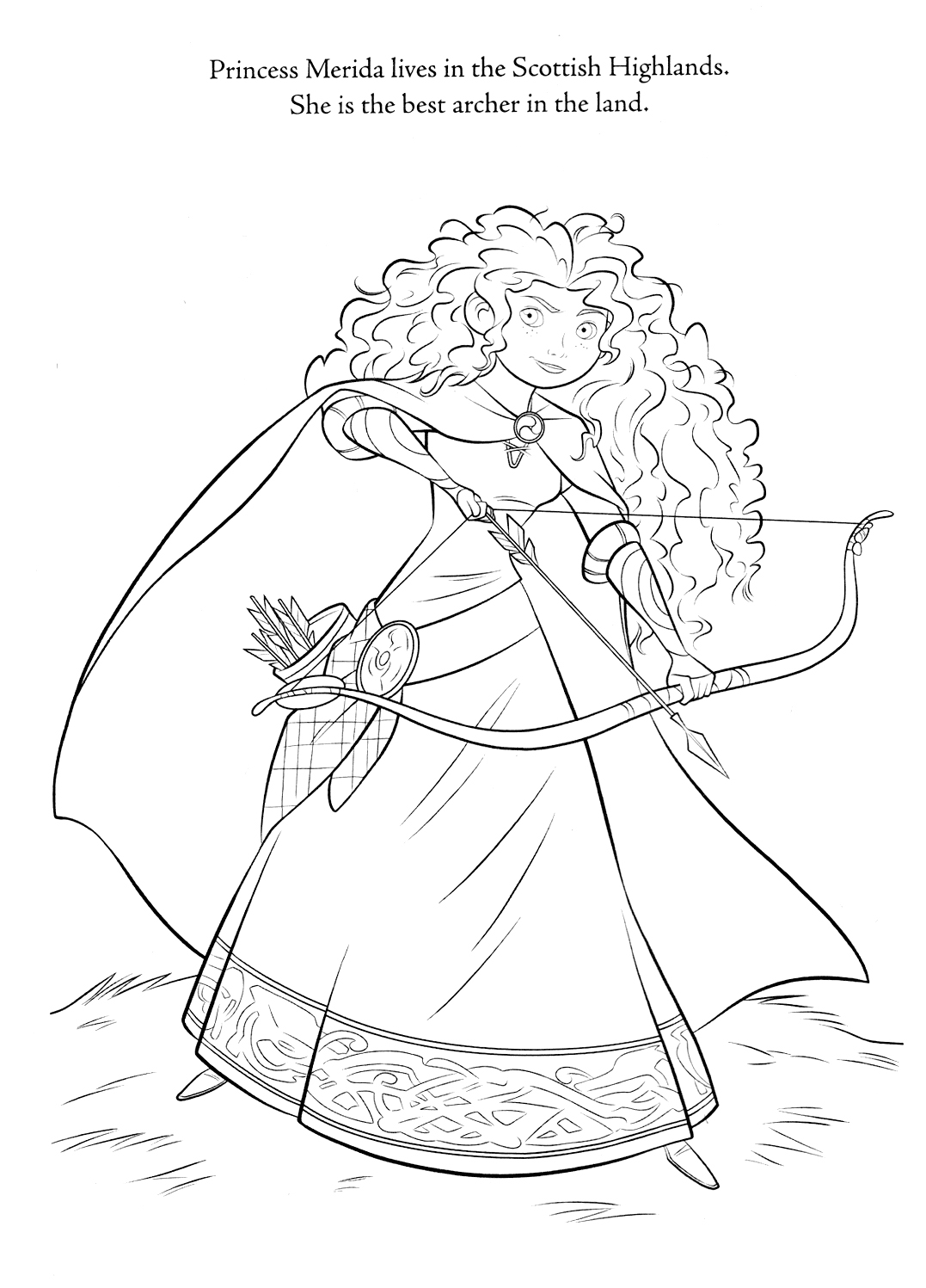 Brave Brave coloring pages