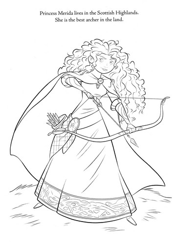 Brave coloring pages - brave Photo