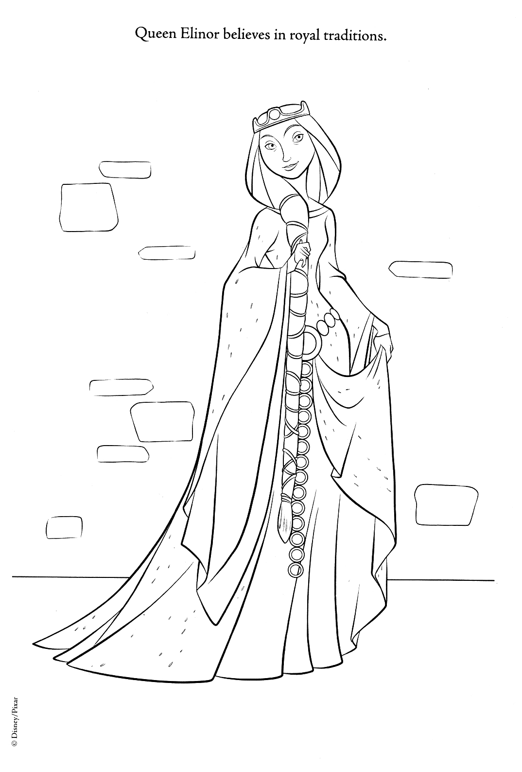 Brave Coloring Pages Brave Photo 30941783 Fanpop