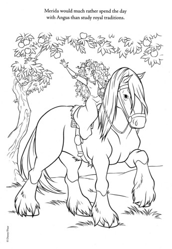 Ribelle - The Brave coloring pages