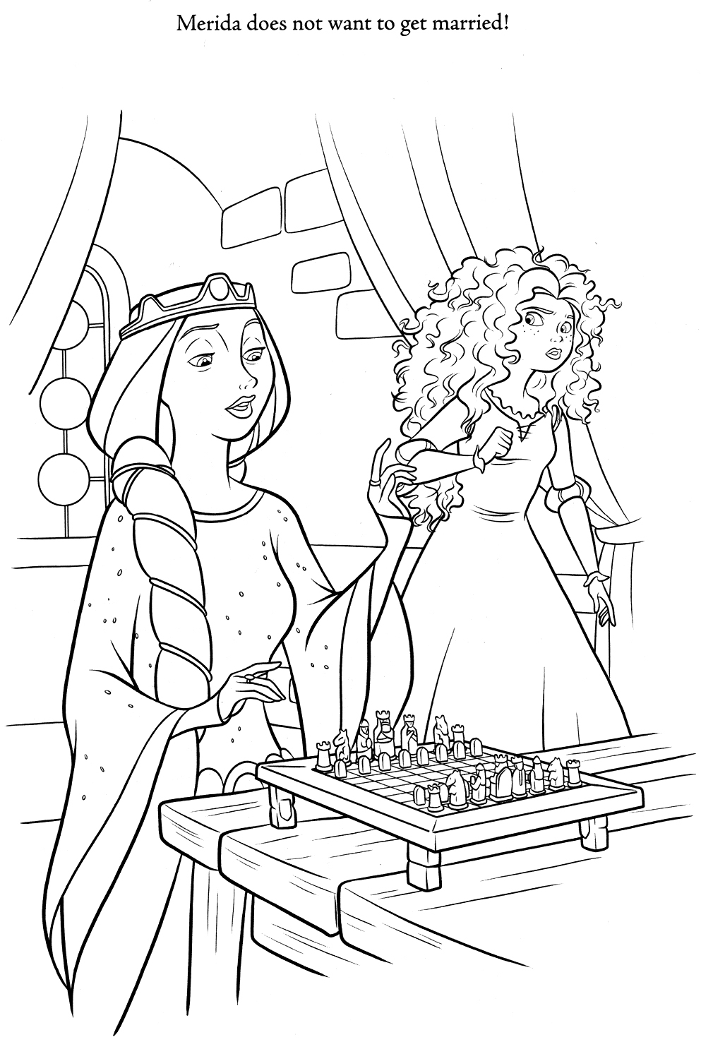 Brave Coloring Pages Brave Photo 30941801 Fanpop