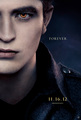 Breaking Dawn part 2 official character poster: Edward Cullen