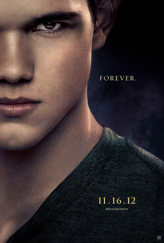 Breaking Dawn part 2 official character poster: Jacob Black
