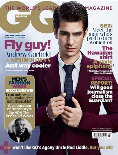 British GQ July 2012