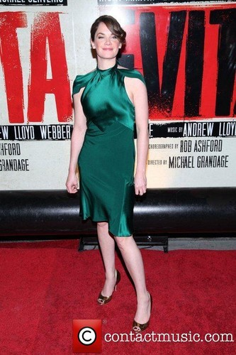 Broadway opening night of 'Evita' at the Marquis Theatre