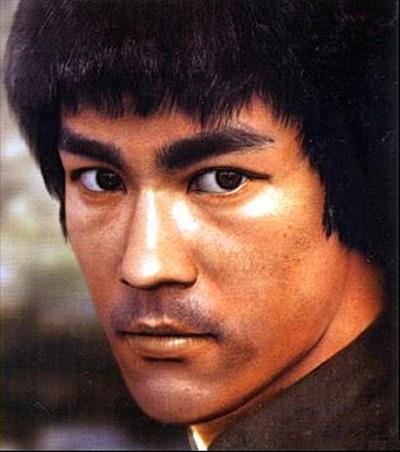 Bruce Lee close up