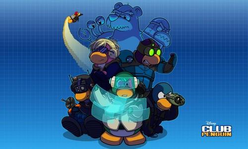 CLUB pinguin, penguin wallpaper