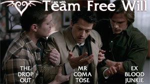 The Drop out, Mr. Comatose & Ex Blood junkie - dean-castiel-and-sam Photo