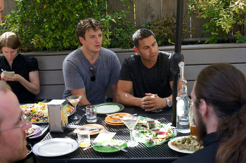 kastilyo Stars Nathan Fillion and Jon Huertas Go Joyriding (PHOTOS)