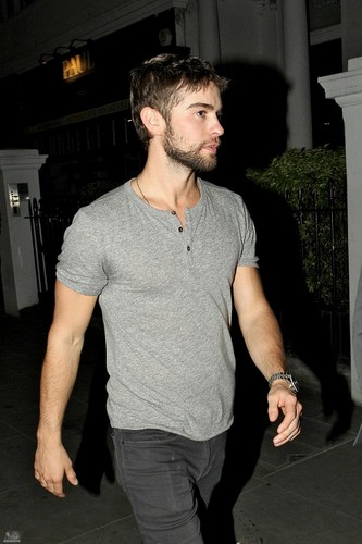 Chace - Leaving 'Boujis' Nightclub in London - May 23, 2012 - chace-crawford Photo