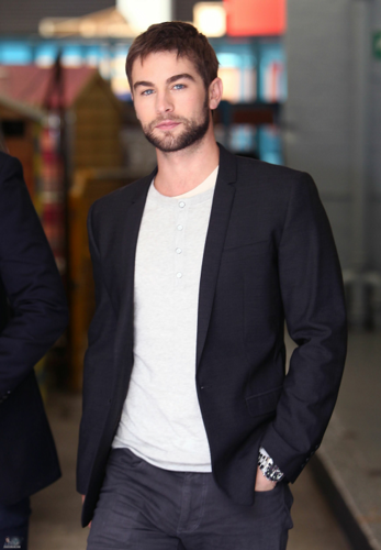 Chace - Leaving the 'ITV' Studios - May 22, 2012