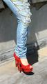Chains, Jeans, and Heels