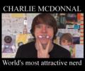 Charlie is a nerdlike