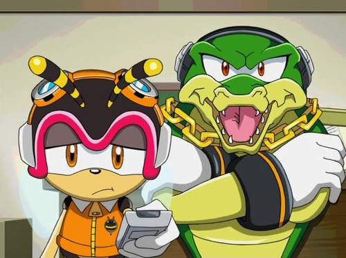 Charmy Turns off the TV