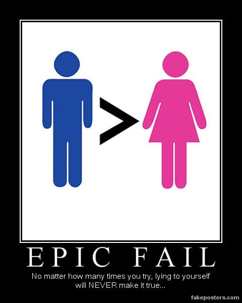 Chauvinism Fail