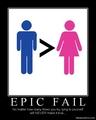 Chauvinism Fail - feminism photo