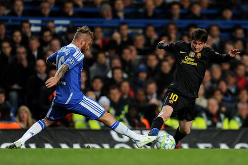 Chelsea FC (1) v FC Barcelona (0) - UEFA CL