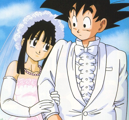 Chi Chi (Dragon Ball) images Chichi and goku married wallpaper and ...