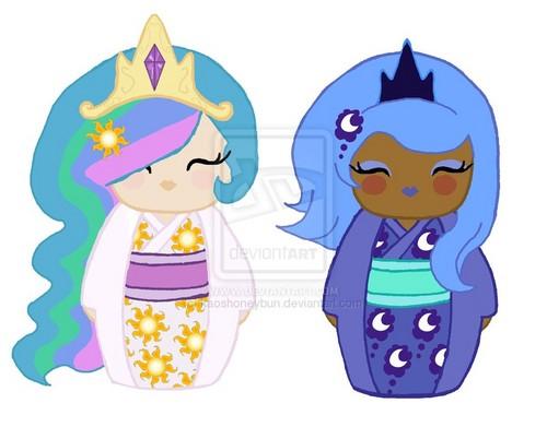 Japanese Luna & Celestia