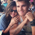 Chis & Lucy - chris-zylka-and-lucy-hale photo