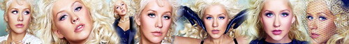 Christina Aguilera photo containing a grainfield entitled Christina banner